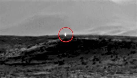 Mars'ta UFO Heyecanı