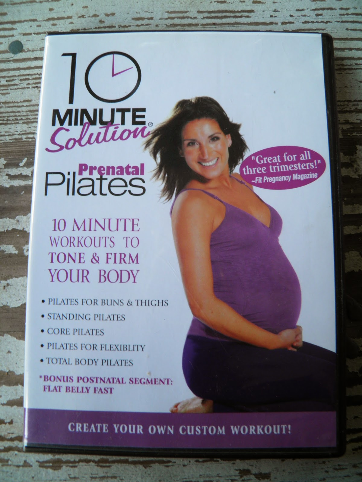 prenatal pilates workout video
