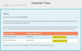 Cara Mendapatkan Pulsa Gratis Telkomsel,XL, 3dan Indosat 2013