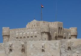 Beautiful fort of Qaitbay in Alexandria