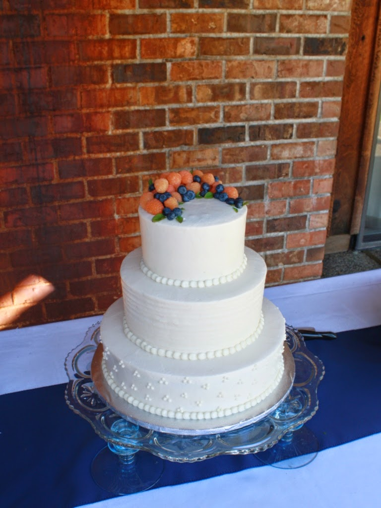 Party Cakes 3 Tier Rustic Wedding Cake