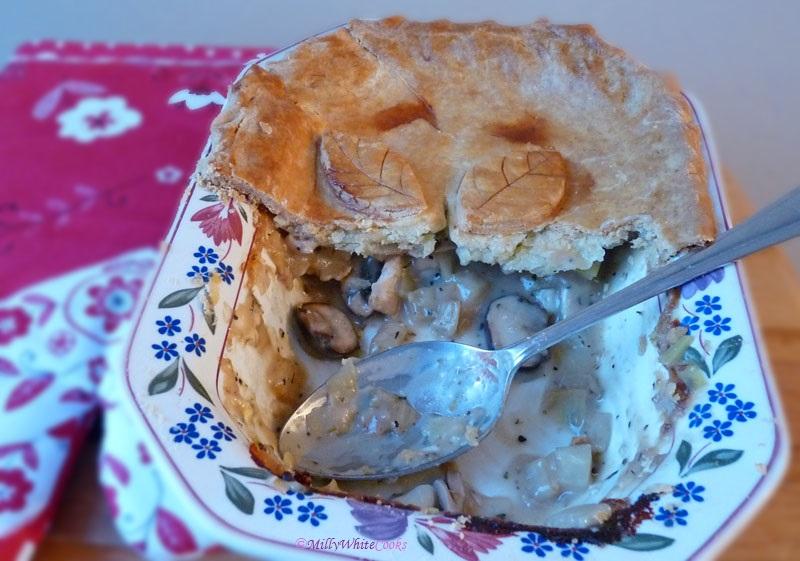 Gluten-Free Chicken, Leek & Mushroom Pie