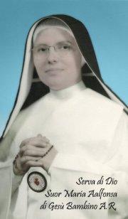 Suor Maria ALfonsa Nostra protettrice del gruppo