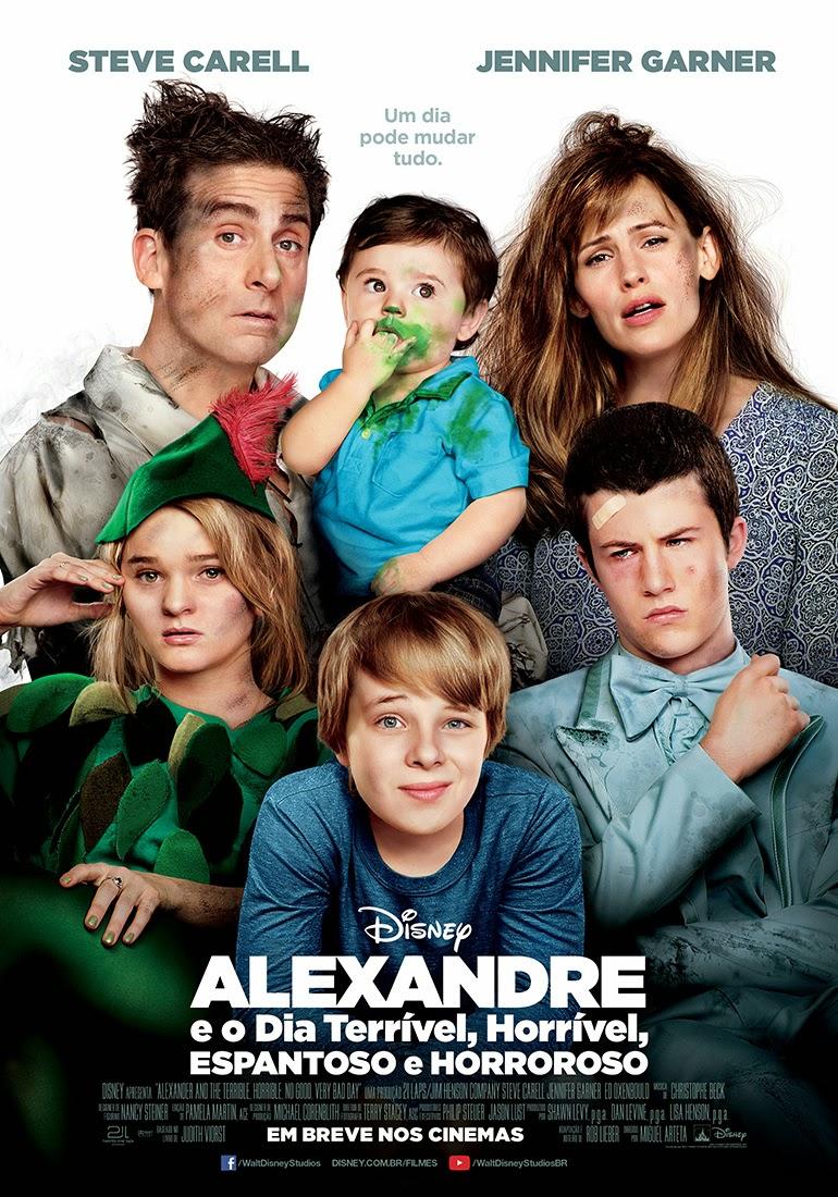 Alexandre e o Dia Terrível, Horrível, Espantoso e Horroroso – Dublado (2014)