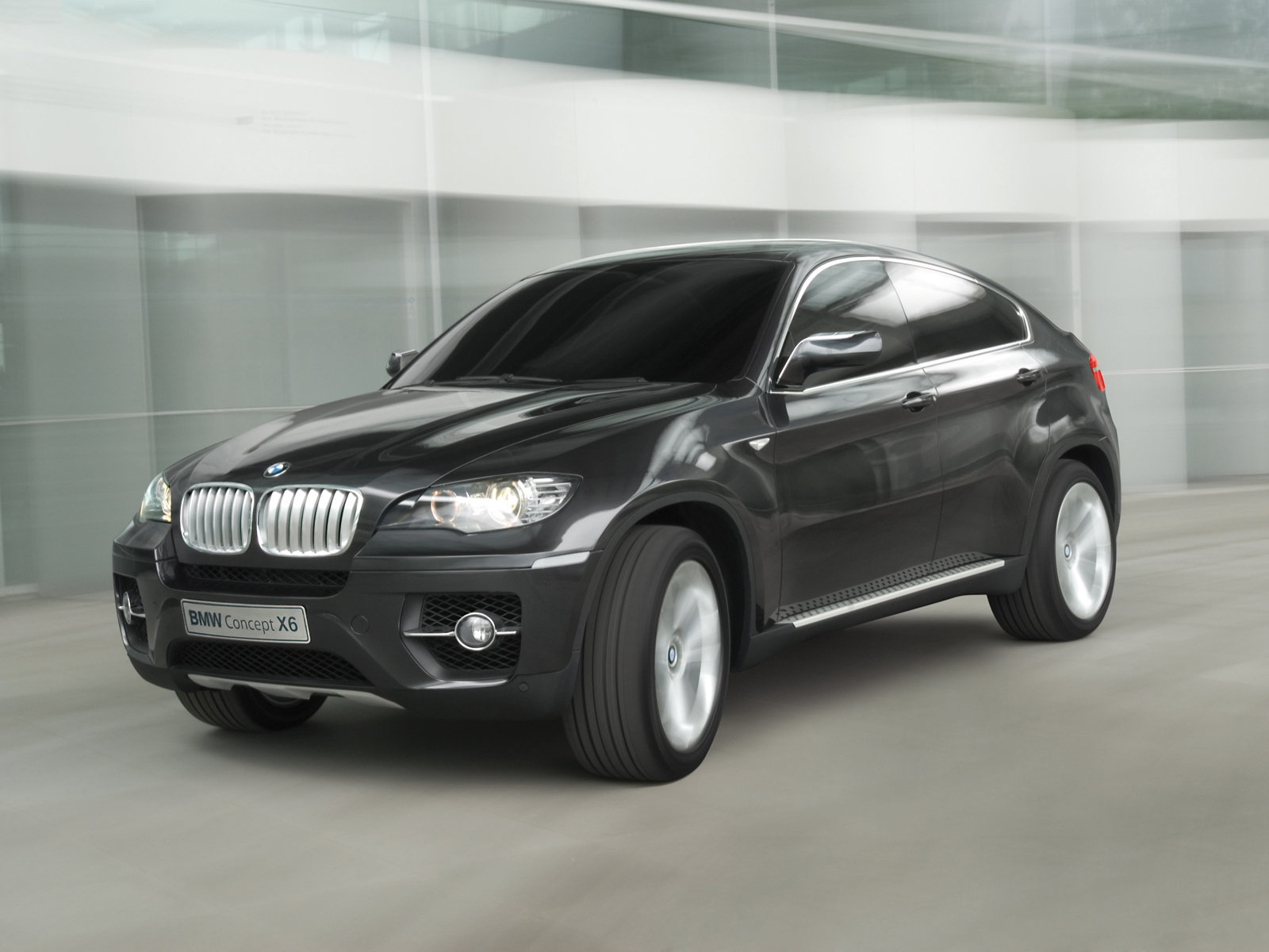 2007 bmw x6 concept front view