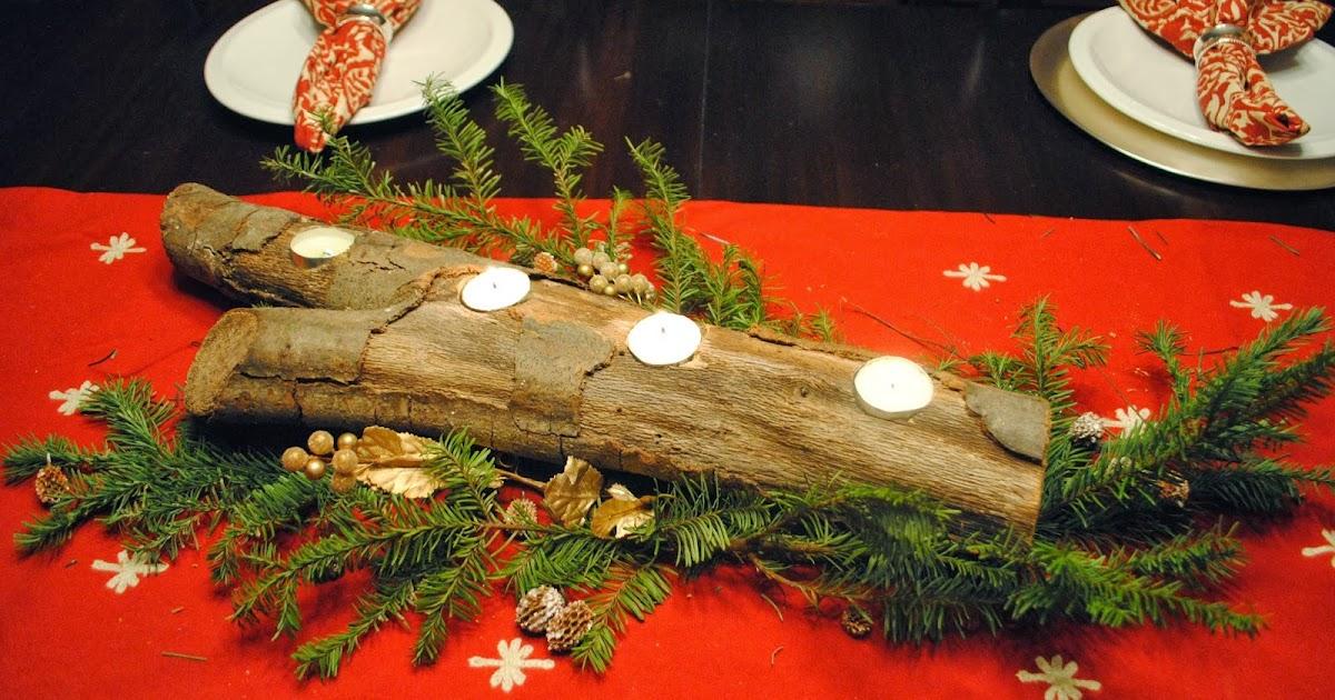 Two It Yourself Diy Log Tea Light Holder Center Piece