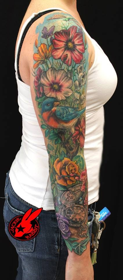 Sunflower Flower Garden Tattoo Feminina