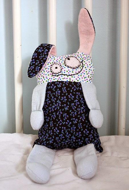 DIY un lapin doudou à coudre expliqué pas à pas