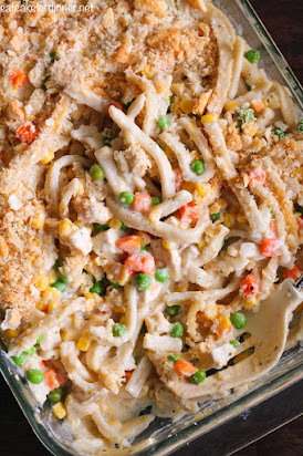 Creamy Chicken Noodle Casserole