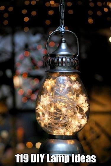 Very Cool DIY Lamp Ideas