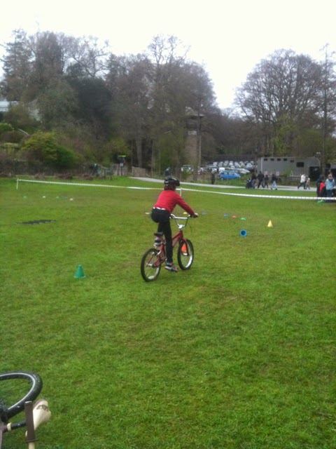 Cycle training at Brockhole
