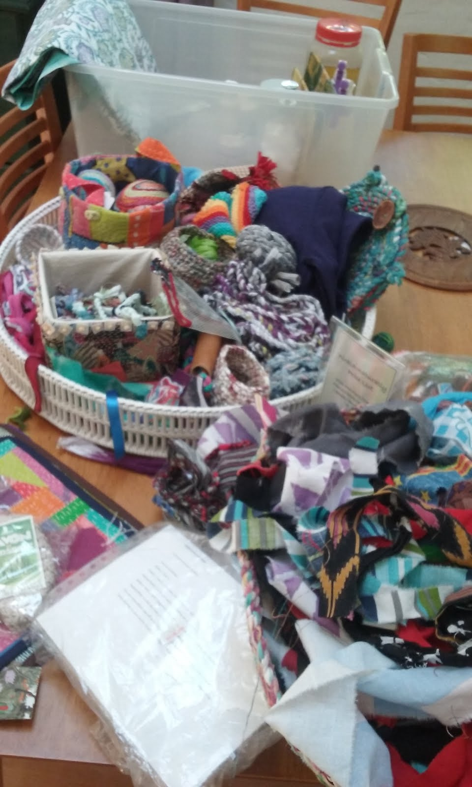Upcycling the Rag Bag Workshop