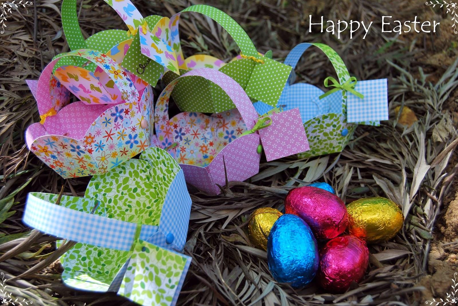 Búsqueda de huevos de Pascua 1
