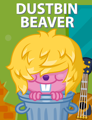 Dustbin Beaver Poster on Moshi Monsters
