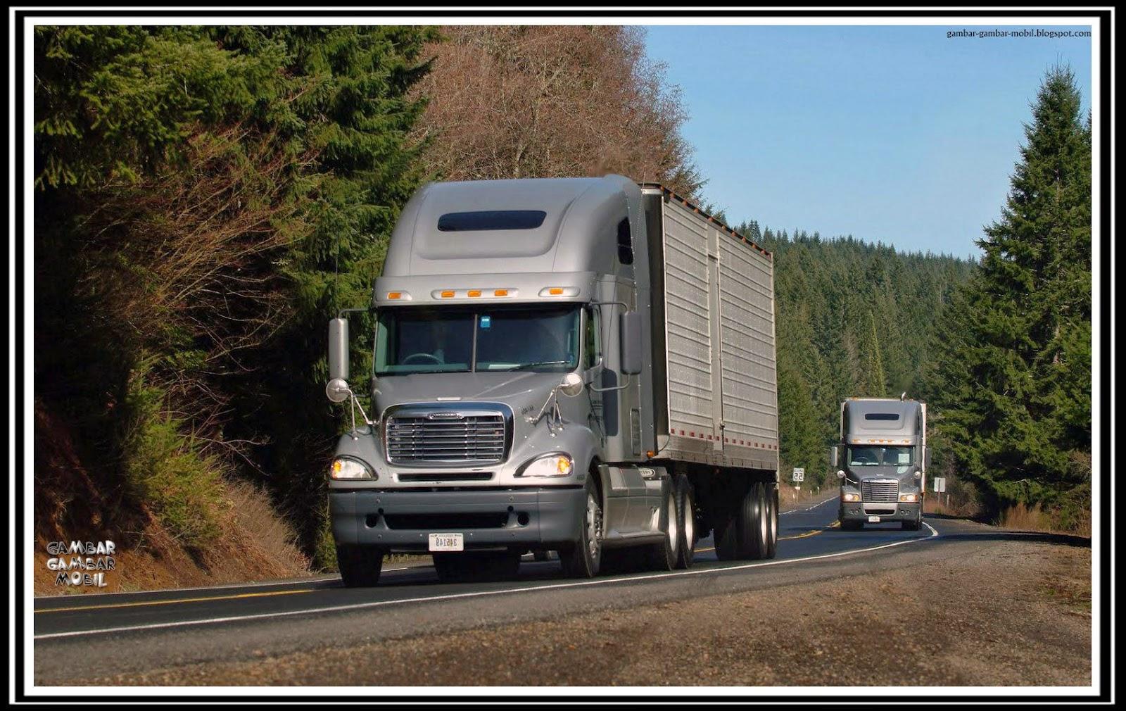 gambar mobil truk terbesar