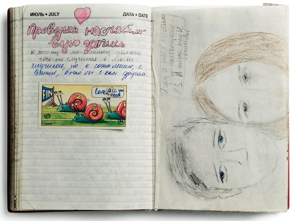 Как сделать дневник для девочек что там написать