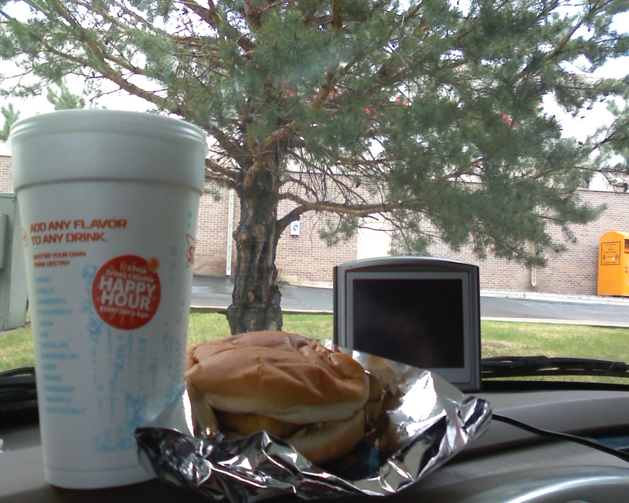 Superbsonic happy hour for Sonic fish sandwich