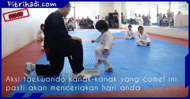 Video Aksi Taekwondo dari Kanak-Kanak Comel