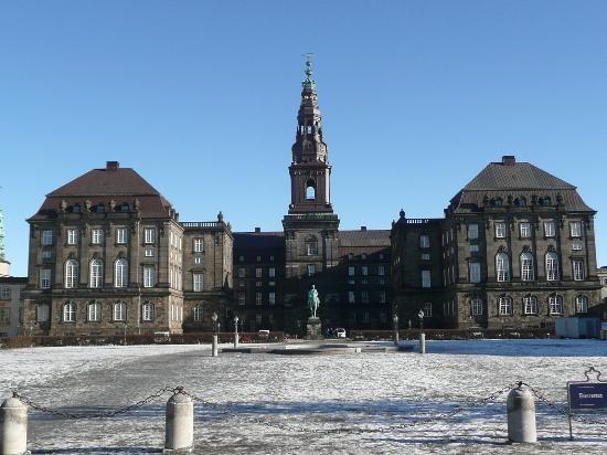 Copenhage - Christiansborg Palace (Christiansborg Slot)