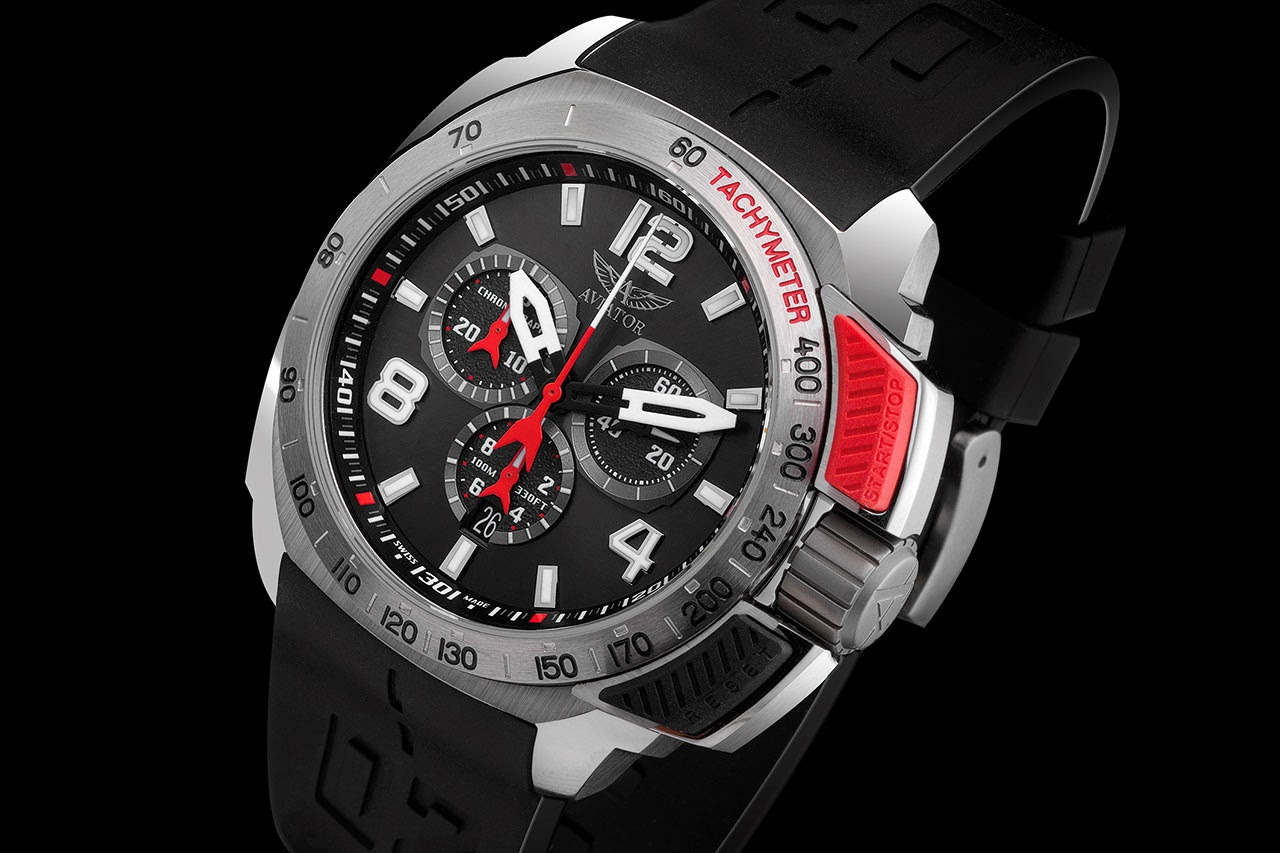Aviator Professional Edition Chronograph Watch