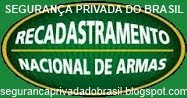 RECADASTRAR  ARMAS DE FOGO