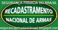 RECADASTRAR  ARMAS DE FOGO