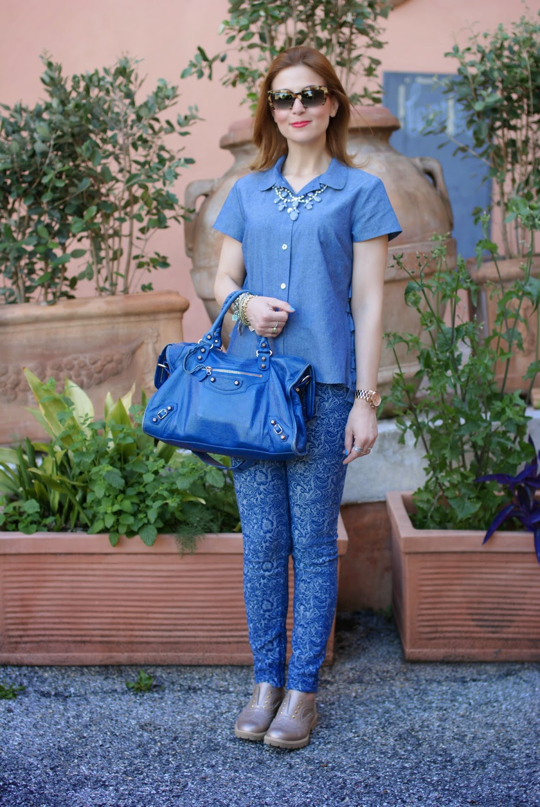lemaré shoes, balenciaga city, insight denim pants, miu miu rasoir sunglasses, Fashion and Cookies, fashion blogger