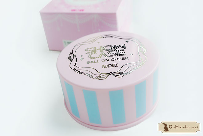 VOV Showcase Ball on Cheek Blusher 1 Bebe Pink Review