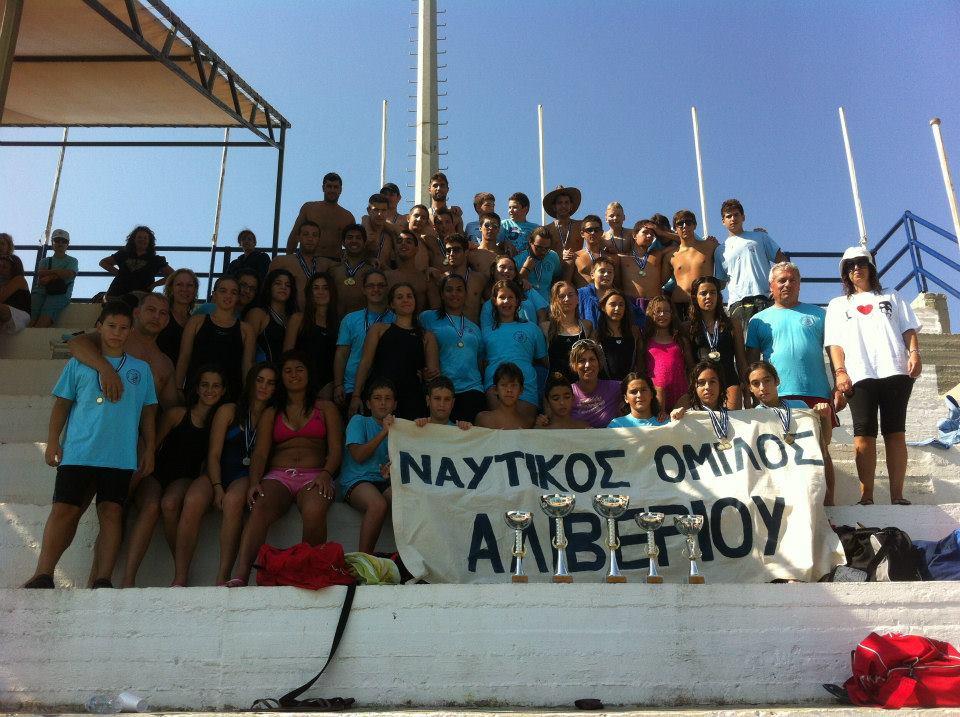 Πρωταθλητής Συλλόγων θάλασσας-Ιτέα 2012