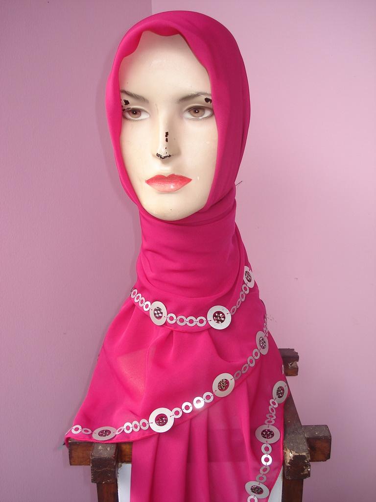24 Gambar Terupdate Tutorial Hijab Segi Empat Cadar Paling