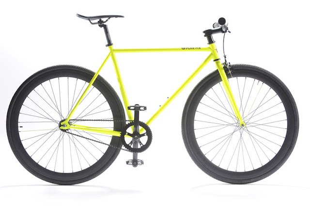 bicicleta brilha escuro neon fluorescente