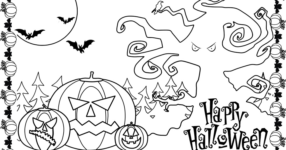 Halloween Pumpkin Coloring Pages Apigramcom