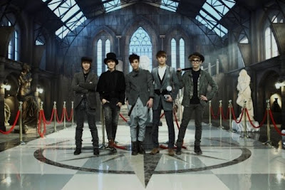 SHINee Sherlock detectives promotional picture teaser photo