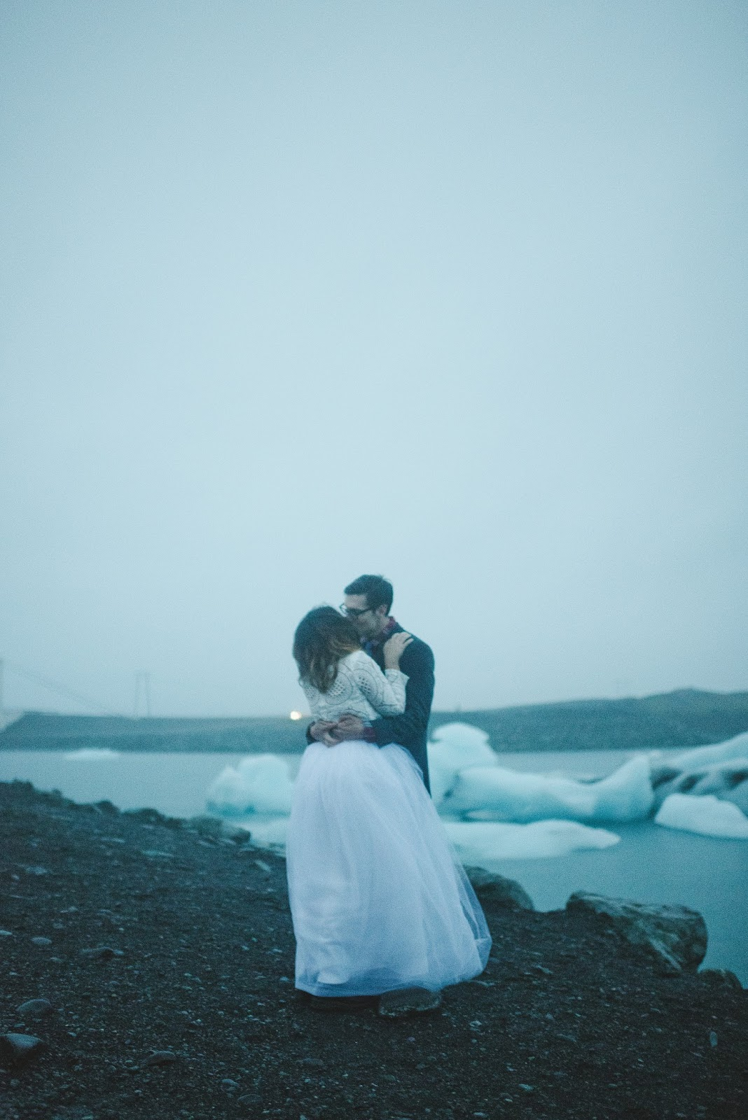 Iceland, wedding, bridal, portraits, photos, Jökulsárlón, glacier, lagoon