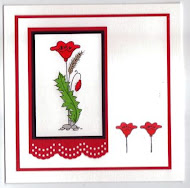 Workshop 12th May - Poppy Stamp