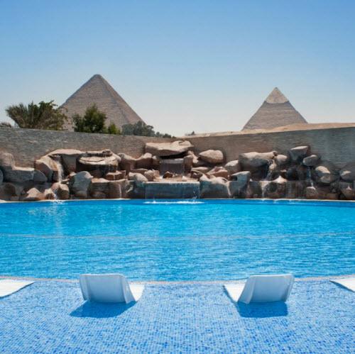 Le Méridien Pyramids Hotel & Spa.