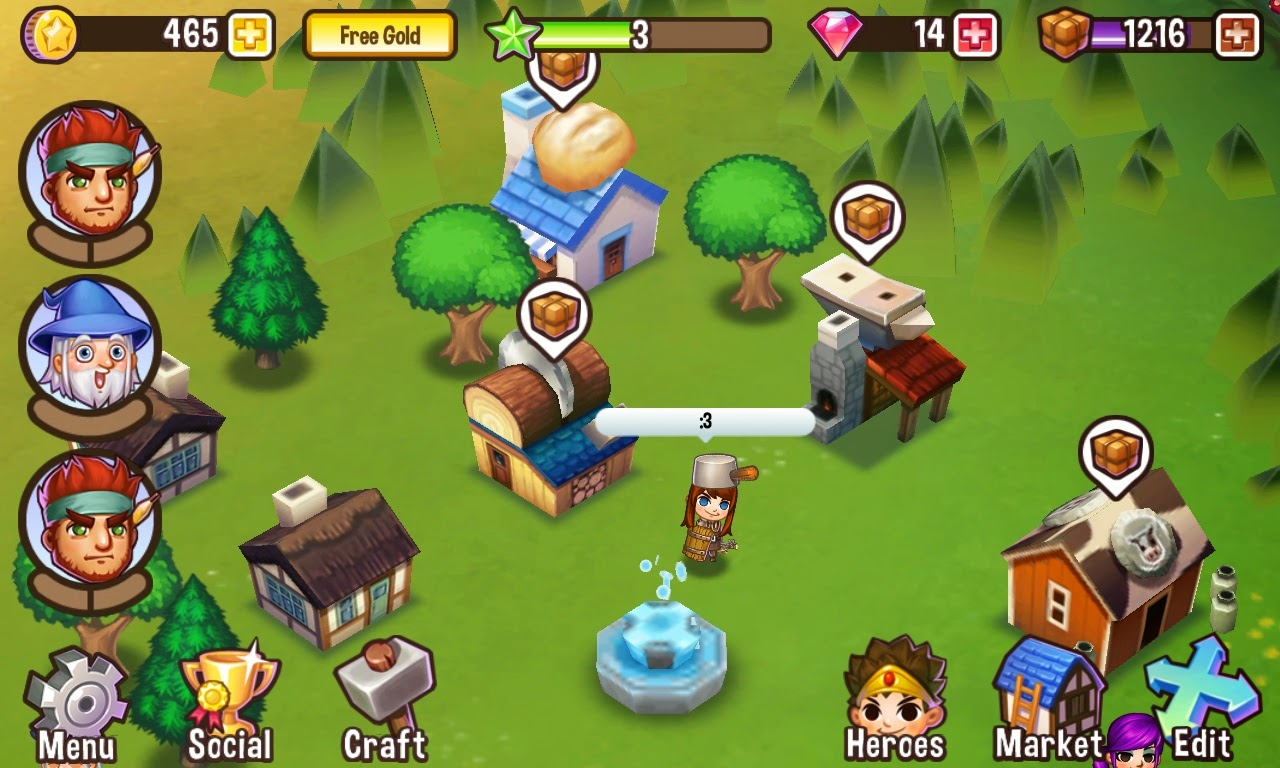 adventure town mod apk versi terbaru