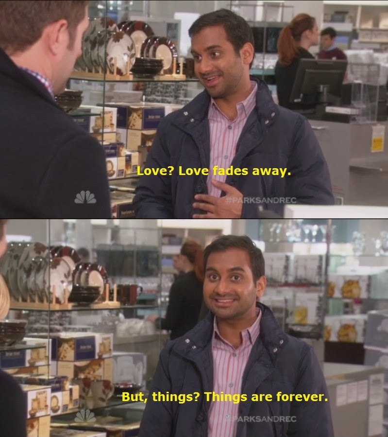 love+fades+away+but+things+are+forever+dr+heckle+funny+aziz+ansari+memes aziz ansari love fades away dr heckle