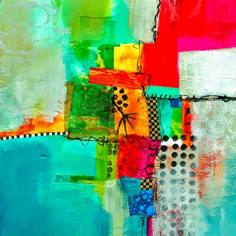 pinturas-modernas-de-abstractos-coloridos
