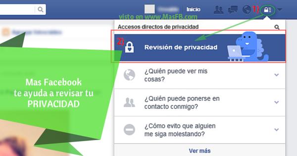 Revisar Privacidad - Mas Facebook