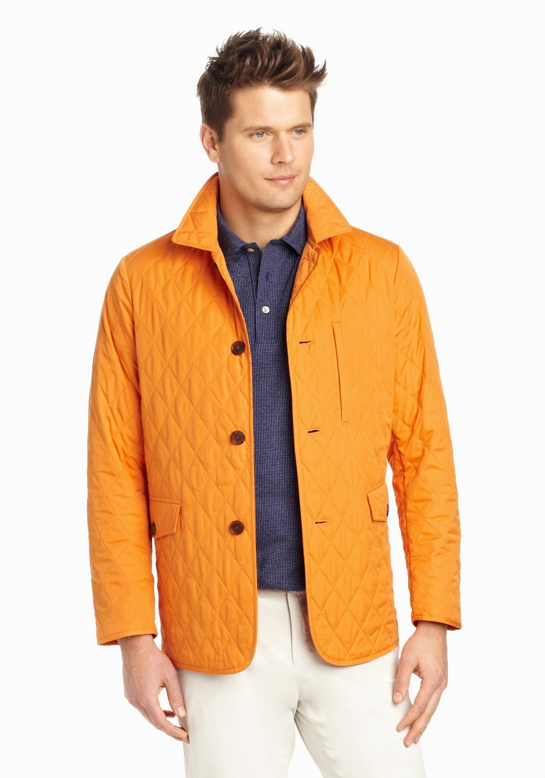 J. McLaughlin Chatham Quilted Jacket Men's