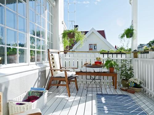 15 fotos de balcones ideas para decorar dise ar y - Balcones interiores casa habitacion ...