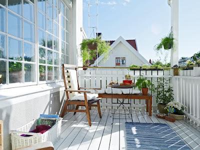 hermoso balcón