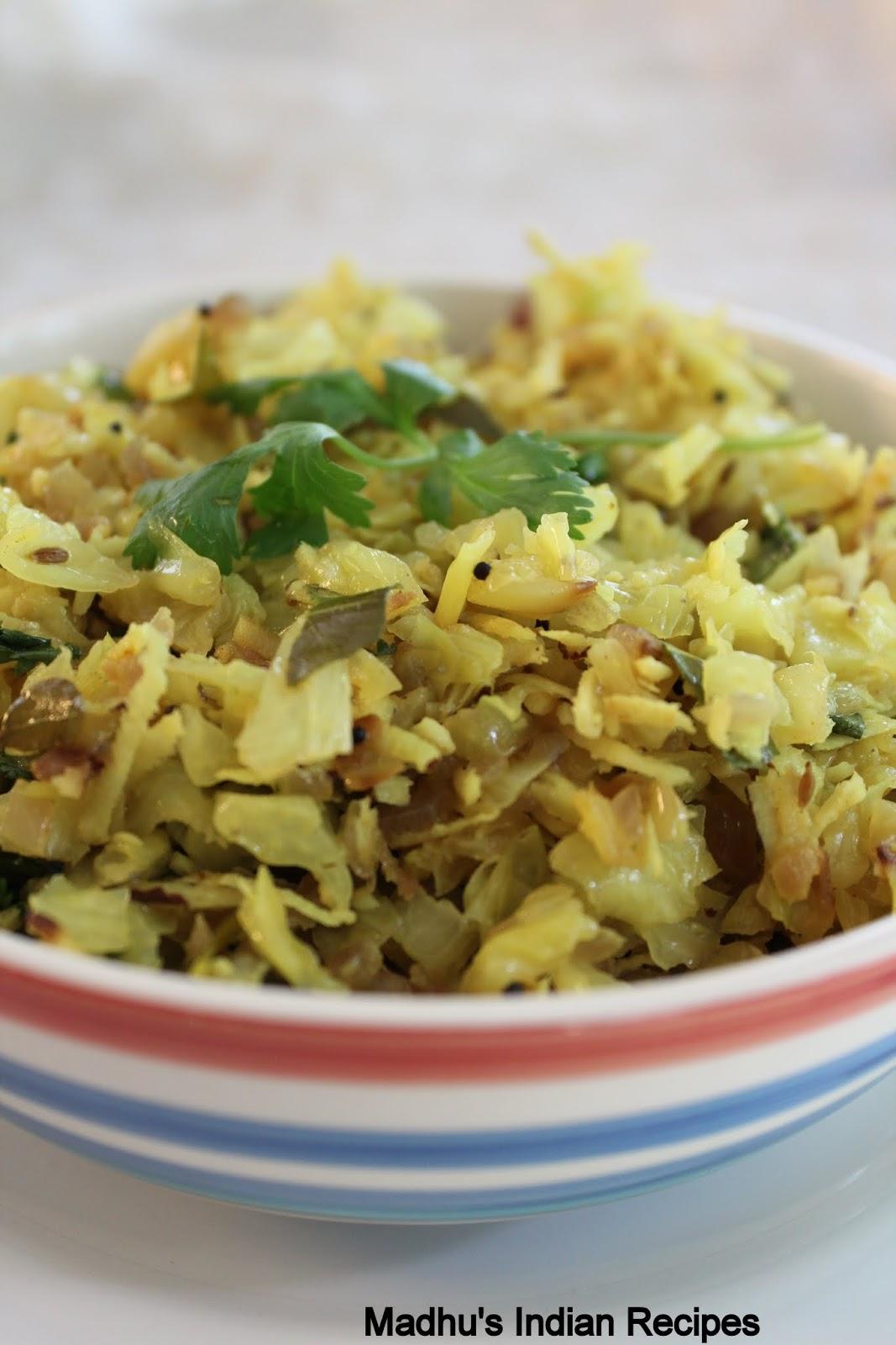 ... Cabbage Thoran   Kerala style Cabbage Stir fry   Onam Sadya Recipes
