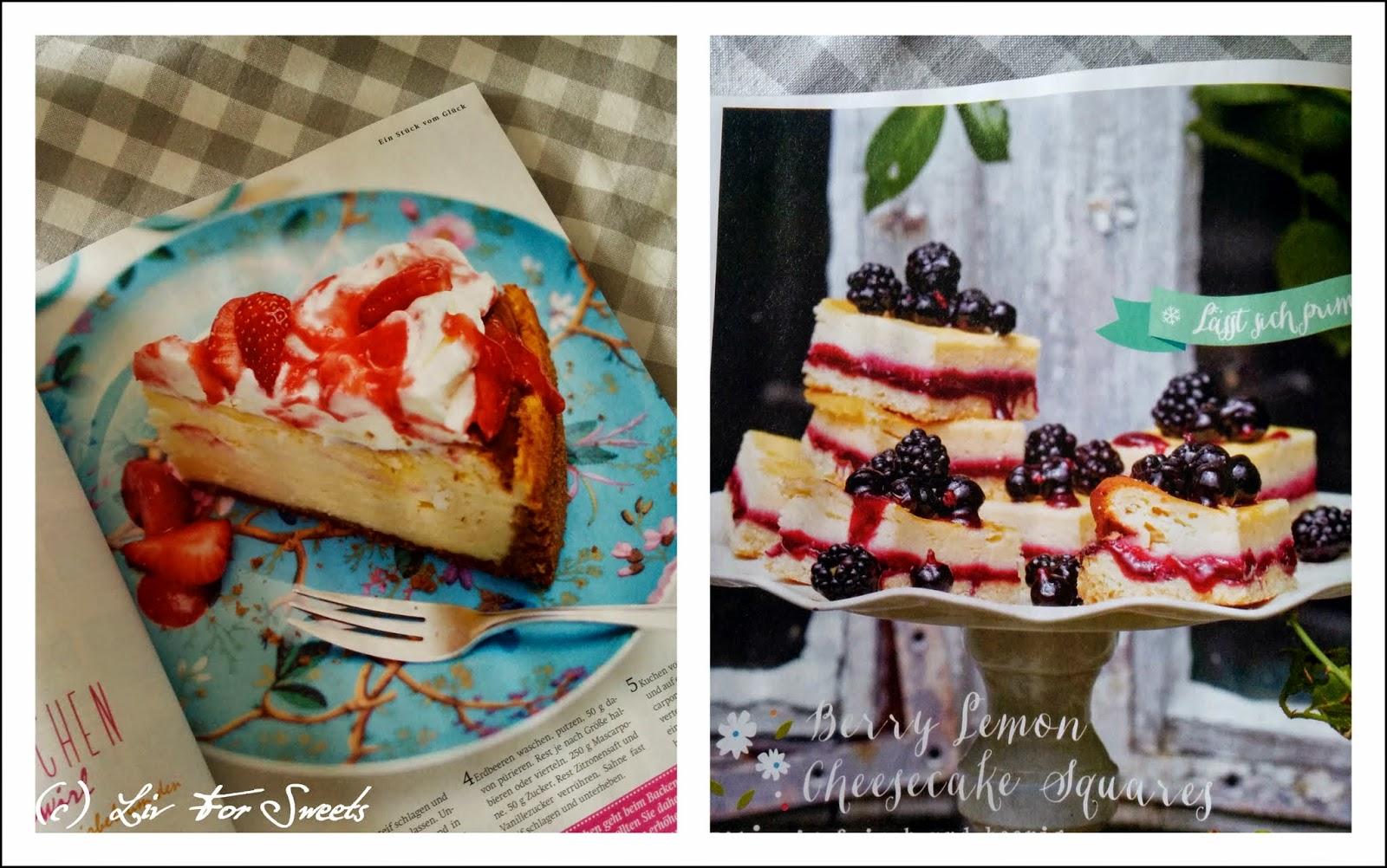 Rezepte aus Lecker Bakery | Mascarpone Käsekuchen | Berry Lemon Cheesecake Squares