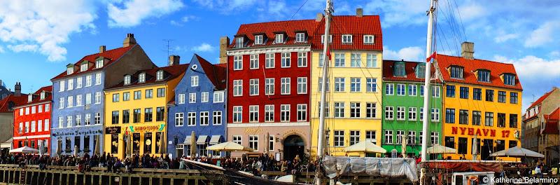 Nyhaven Canal Copenhagen Denmark