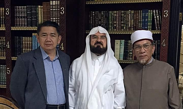 AMANAH DEPUTY ADVISER WITH 2nd MAN OF WORLD ULAMAK COUNCIL