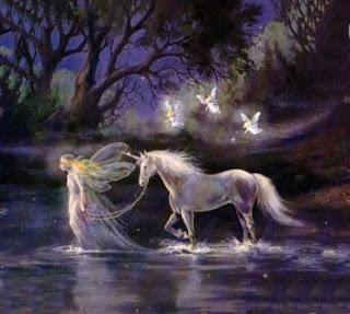 A Lenda do Bosque Encantado  Fadas-e-unicornio