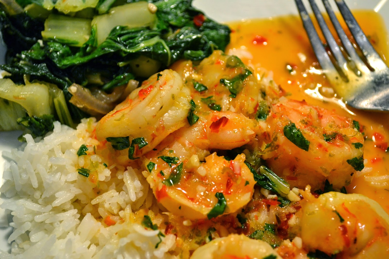 The No Pressure Cooker: Thai Lemon Shrimp with Coconut Rice