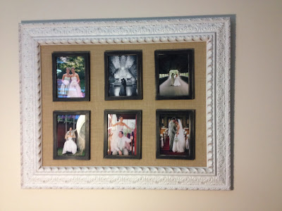 DIY Picture Frame Montage